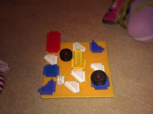 stickle brick art