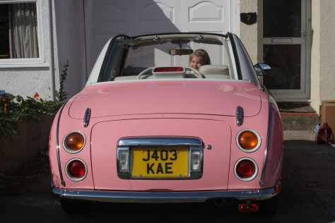 pink figaro rear