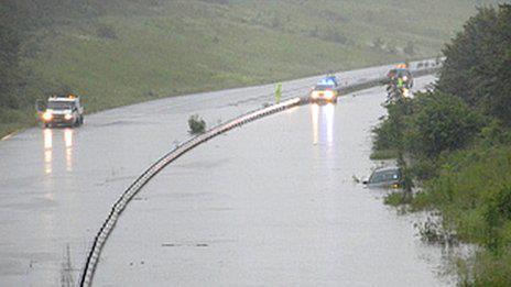 bignor regis butlins floods