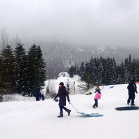 A Day in the Snow at Hyak Sno Park