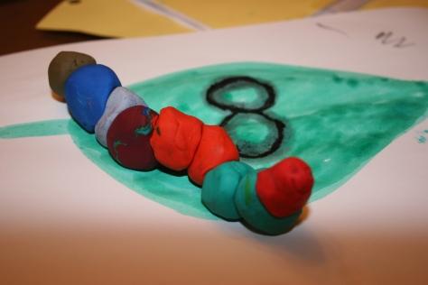 clay caterpillar