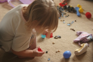 playing with loose parts