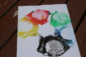 bubble print