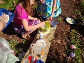 outdoor play with potions