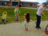 Frog's for catching, field day activities