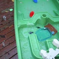 Outdoor Play Ideas: Discovering and Learning about Ice on a Cold and Frosty Morning