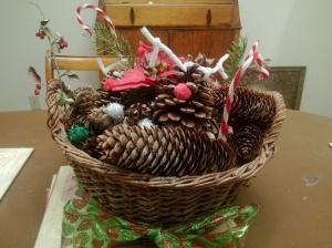 table arrangement christmas