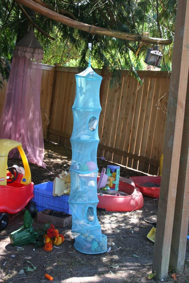 storage outdoor toys