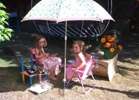 A shady parasol