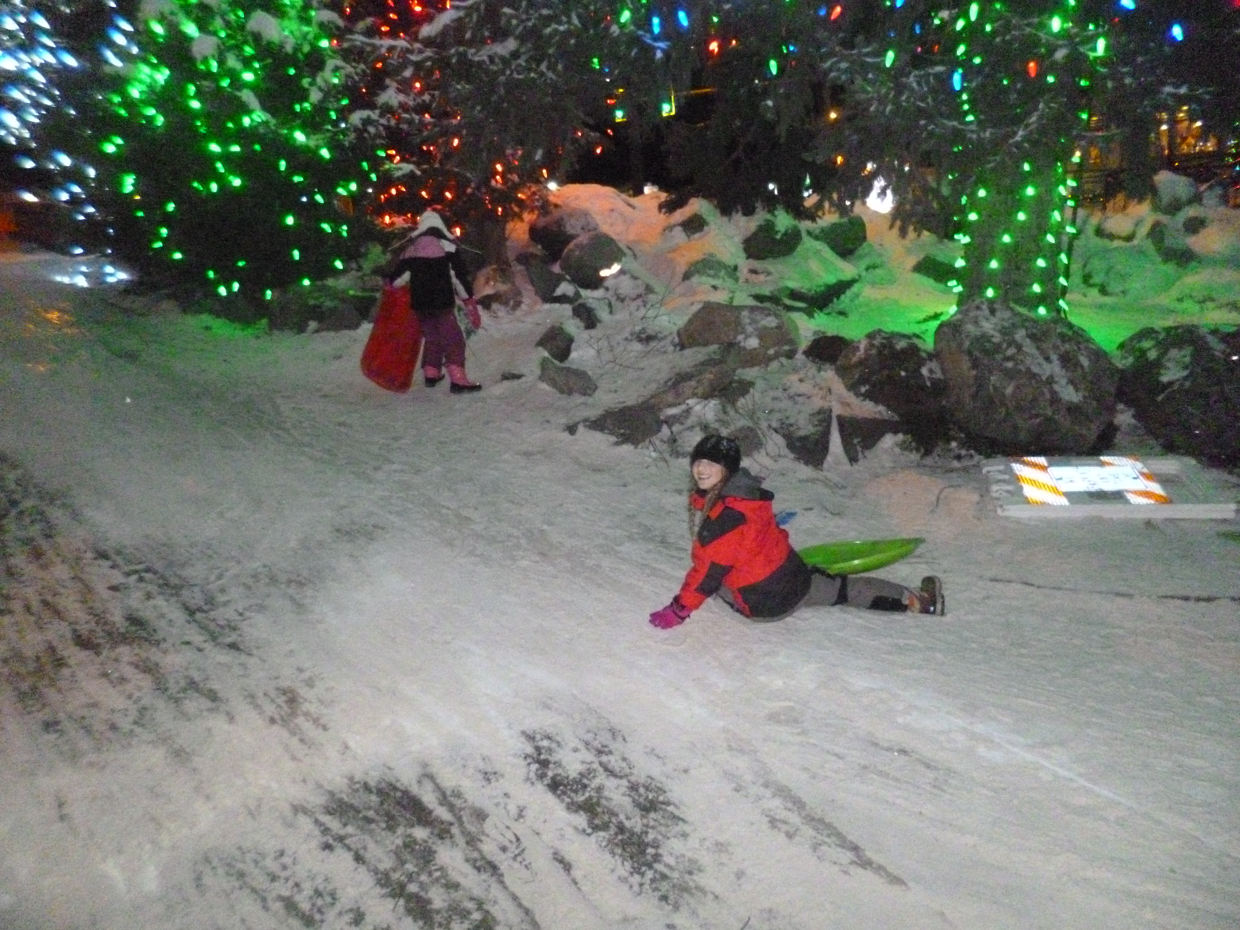 sledging in leavenworth