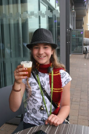 Sampling butterbeer