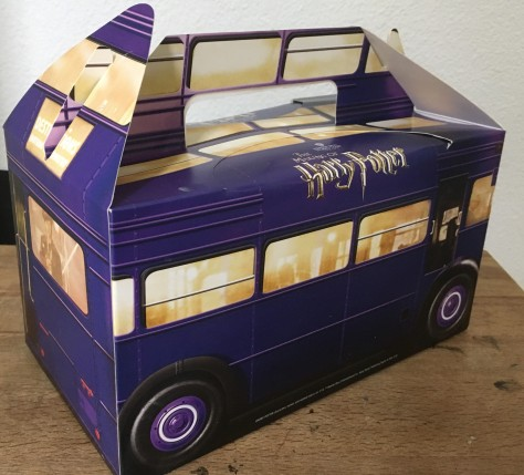 knight bus lunch box