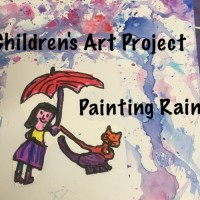Art Lessons: Painting Rain