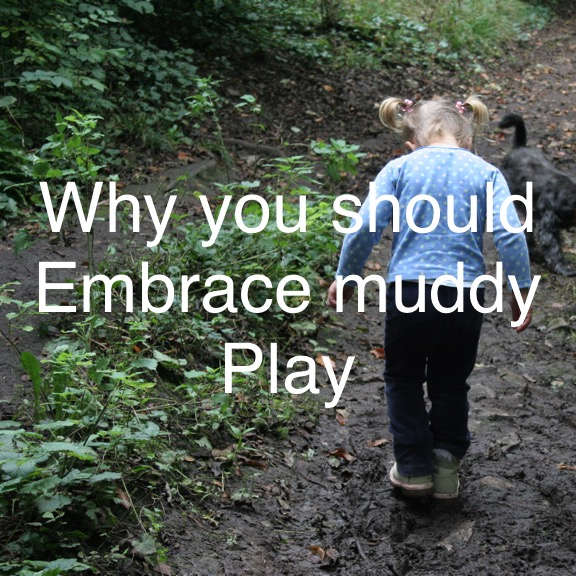 Mud,Mud, Glorious Mud: Why you Should Embrace Mud Play.