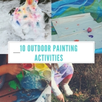 10 Outdoor Painting Activities