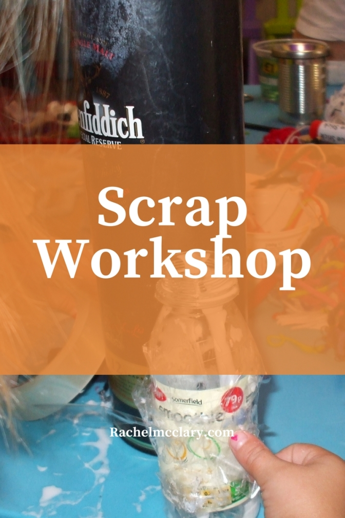 Scrap Workshop:What do children learn from playing with boxes and scrap materials?
