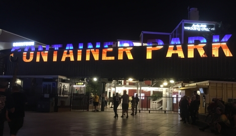 container park by night