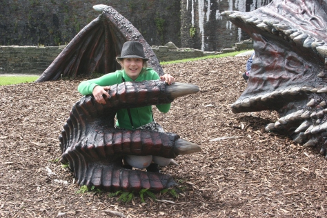cadw dragons