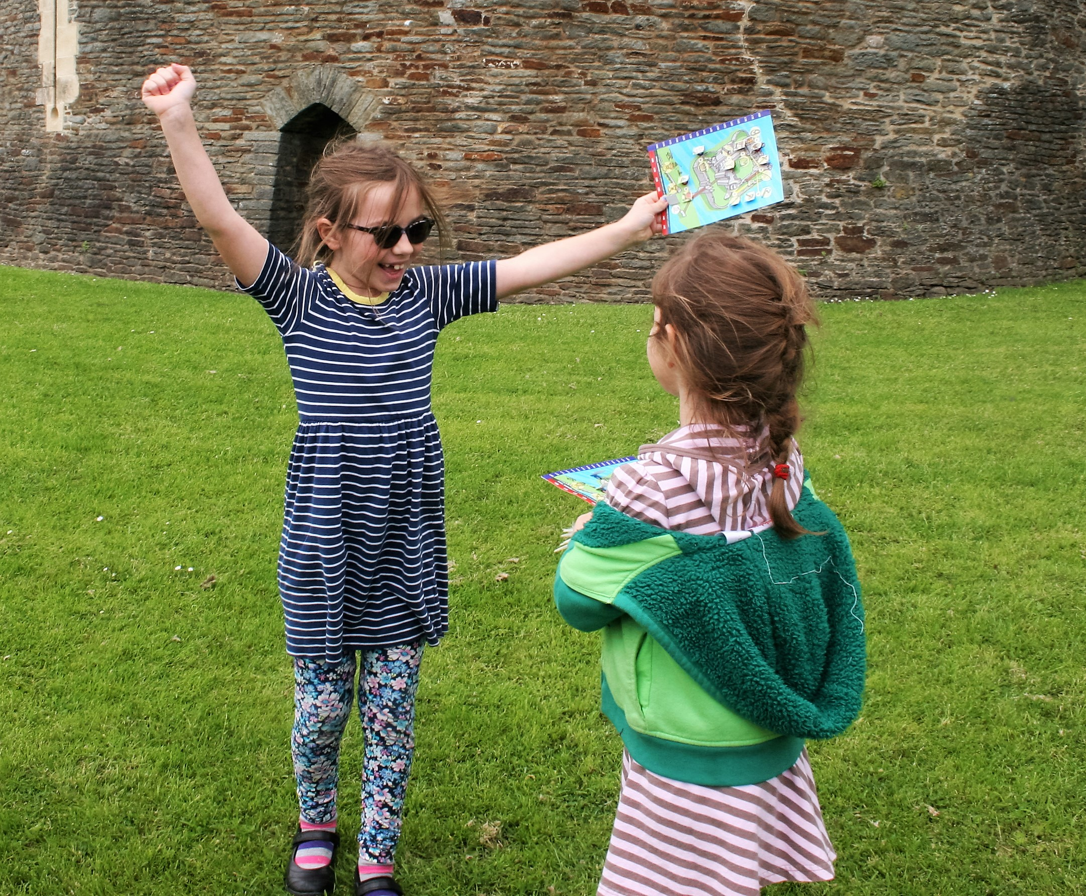 kids activities caerphilly castle