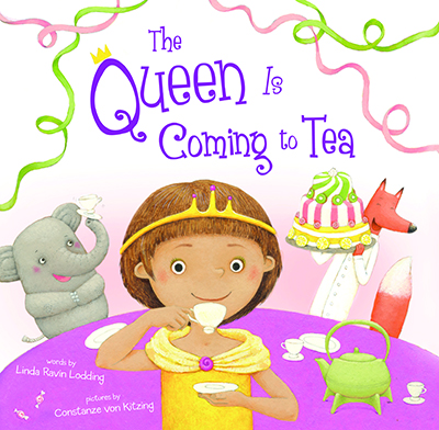 The Queen is Coming to Tea: Book review & fun activities for a Royal tea party theme.