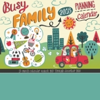 Organise Your School Year Activities with The Busy Family Calendar