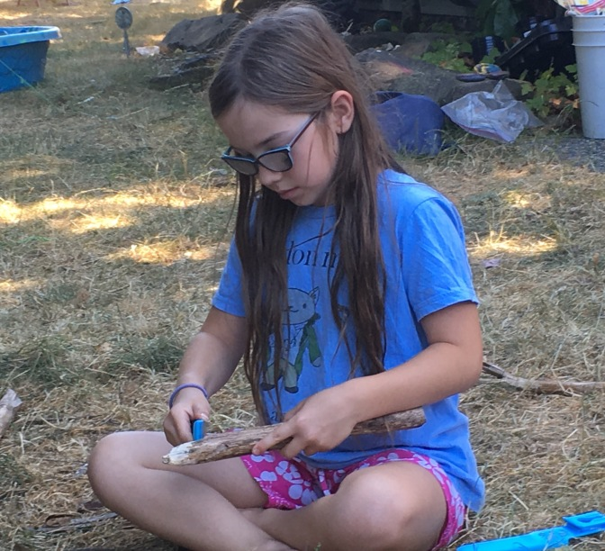 Whittling with Kids