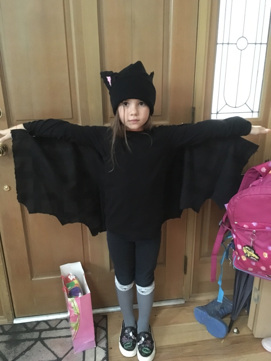 How to Make a Simple Bat Costume