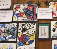 piet mondrian inspired art