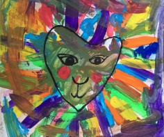 square one art inspired by leroy neiman lions