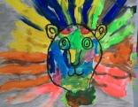 leroy neiman lions 1st grade art