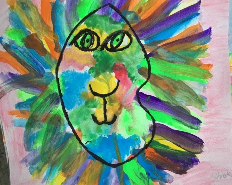 1st grade square one art lesson