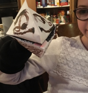 how to make a hand puppet