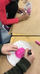 1st grade art - chihuly Macchia