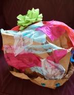 paper bag hat