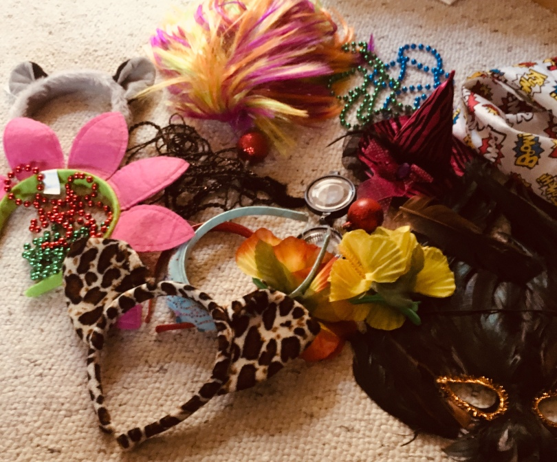 accessories for costume party